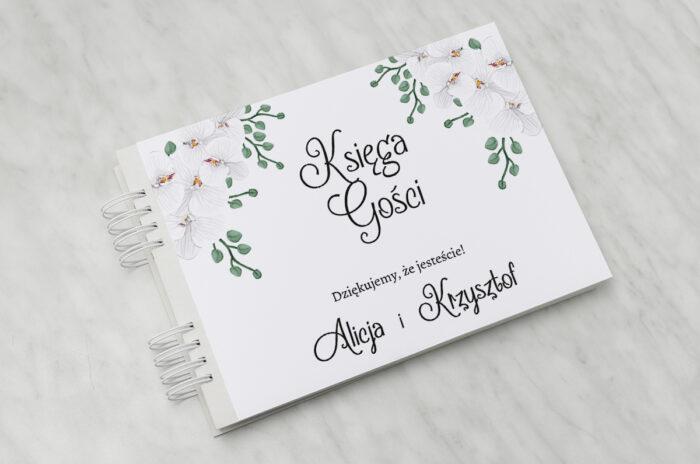 ksiega-gosci-do-zaproszenia-ze-zdjeciem-i-sznurkiem-biale-storczyki-papier-matowy-dodatki-ksiega-gosci