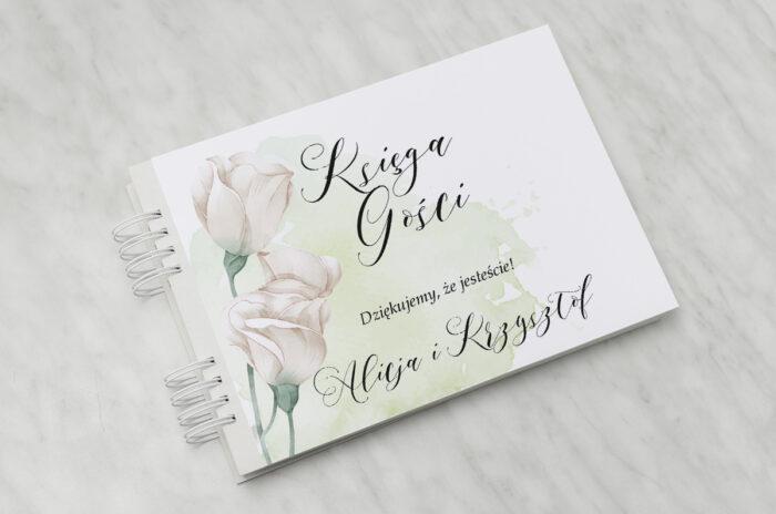ksiega-gosci-slubnych-namalowane-kwiaty-wzor-2-papier-matowy-dodatki-ksiega-gosci
