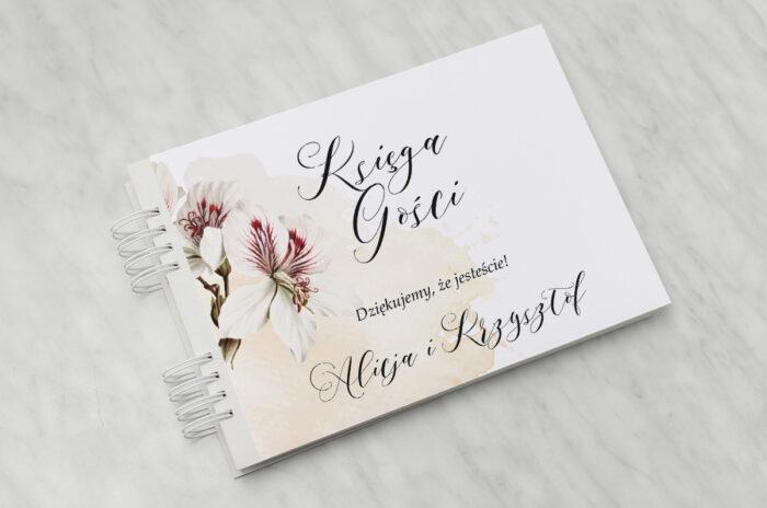 ksiega-gosci-slubnych-namalowane-kwiaty-wzor-22-papier-matowy-dodatki-ksiega-gosci