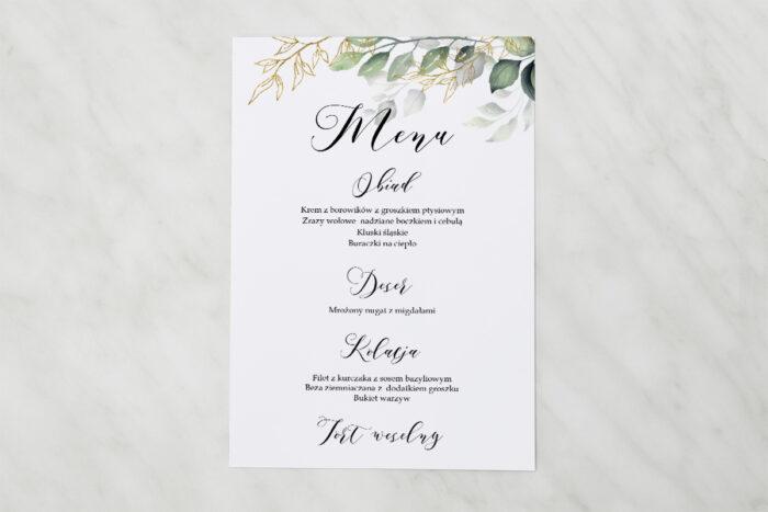 menu-weselne-do-zaproszen-botaniczne-galazki-ze-zlotem-papier-satynowany
