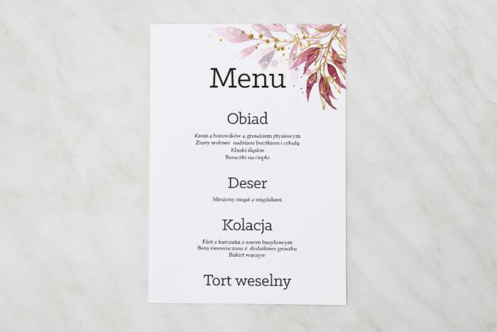menu-weselne-akwarelowe-bukiety-wzor-2-papier-satynowany