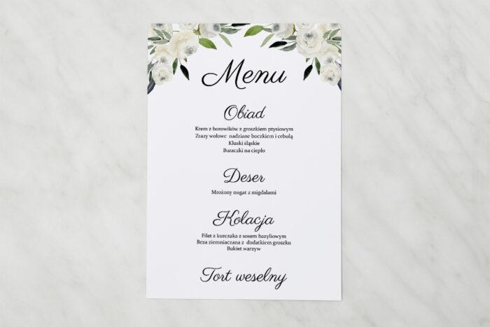 menu-weselne-do-zaproszenia-jednokartkowe-biale-kwiaty-papier-matowy