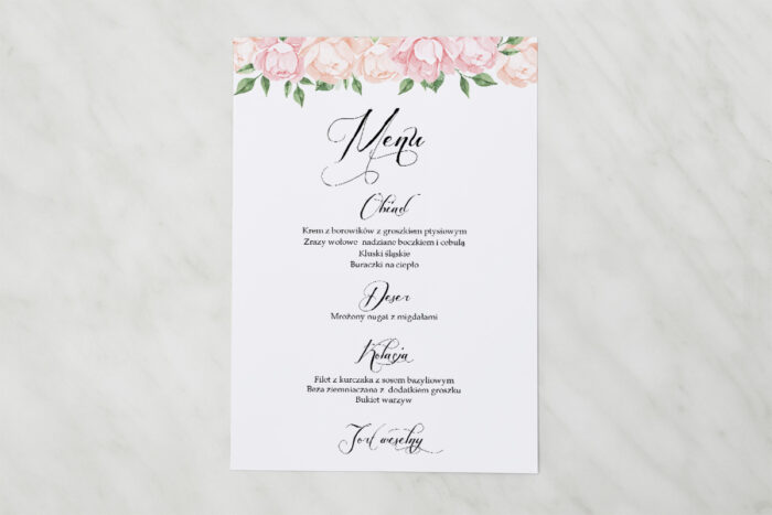 menu-weselne-pasujace-do-zaproszenia-wianki-z-kokarda-herbaciane-roze-papier-matowy