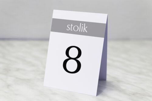 Numer stolika pasujący do zaproszenia FotoZaproszenie 3a