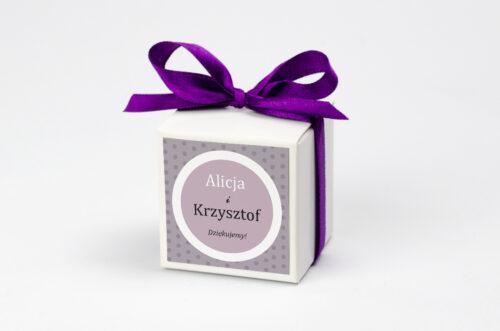 Ozdobne pudełeczko z personalizacją zaproszenia FotoZaproszenie wzór 1a