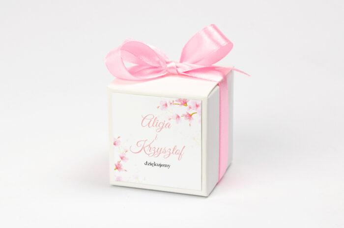 Pudełeczko z personalizacją Zdjęcie&Kalendarz w folderze – Kwiaty jabłoni