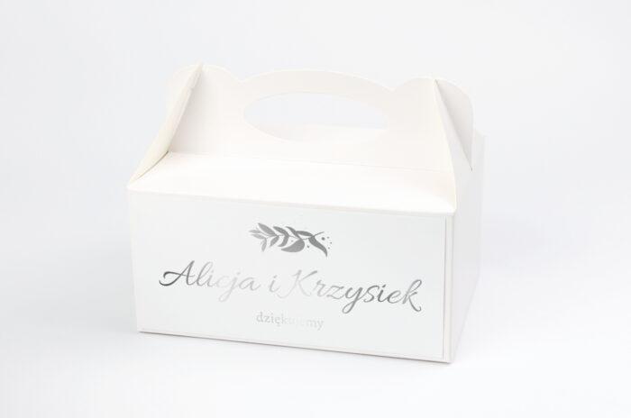 ozdobne-pudelko-na-ciasto-srebrne-lustro-liscie-eukaliptusa-papier-satynowany-pudelko-