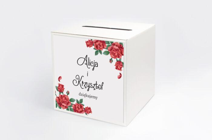 personalizowane-pudelko-na-koperty-do-zaproszenia-ze-zdjeciem-i-sznurkiem-czerwone-roze-papier-satynowany-pudelko-