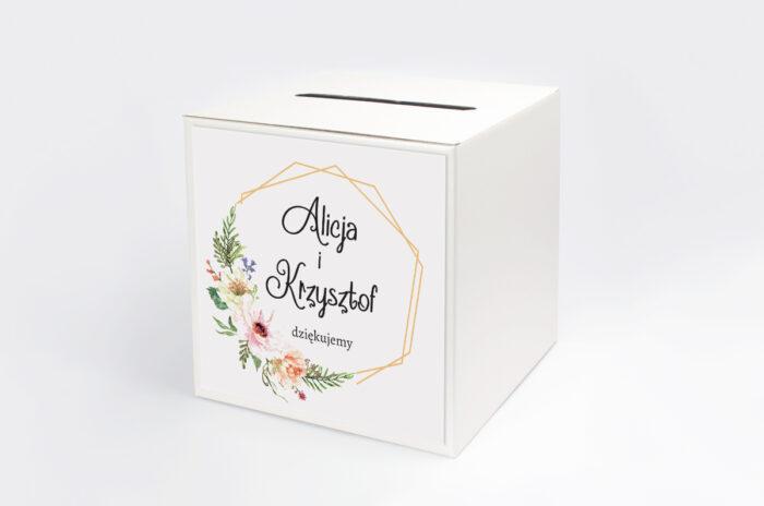 personalizowane-pudelko-na-koperty-do-zaproszenia-ze-zdjeciem-i-sznurkiem-sloneczne-kwiaty-papier-satynowany-pudelko-