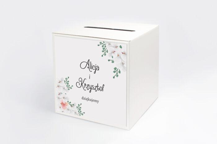 personalizowane-pudelko-na-koperty-do-zaproszenia-ze-zdjeciem-i-sznurkiem-biale-storczyki-papier-satynowany-pudelko-