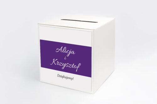 Pudełko na koperty do zaproszenia FotoZaproszenie wzór 5c