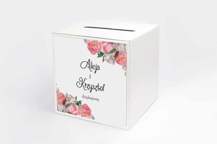 personalizowane-pudelko-na-koperty-do-zaproszenia-ze-zdjeciem-i-sznurkiem-wianek-z-piwonii-papier-satynowany-pudelko-
