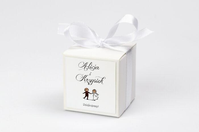 Ozdobne pudełeczko z personalizacją - Lolki tańczące