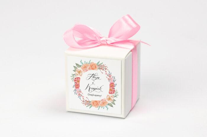 pudeleczko-z-personalizacja-wianki-z-kokarda-herbaciany-wianek-kokardka--krowki-bez-krowek-papier--pudelko-