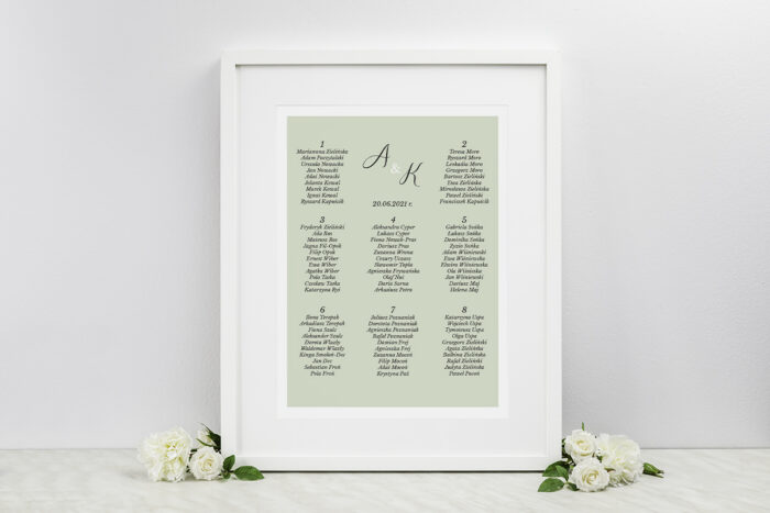 plan-stolow-weselnych-jednokartkowe-zdjecie-kalendarz-zielen-dodatki-ramka-papier-