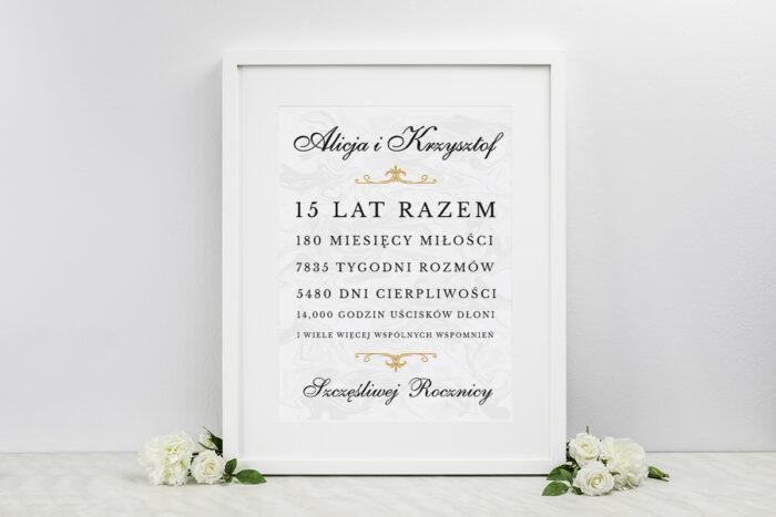 tablica-wspomnien-nasza-historia-wzor-4-dodatki-ramka-papier-satynowany