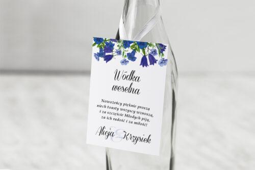 Zawieszka na alkohol Kwiaty Vintage – wzór 1