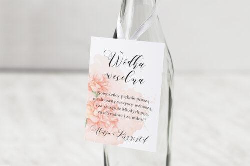Zawieszka na alkohol Namalowane Kwiaty – wzór 7