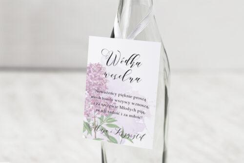 Zawieszka na alkohol Namalowane Kwiaty – wzór 19