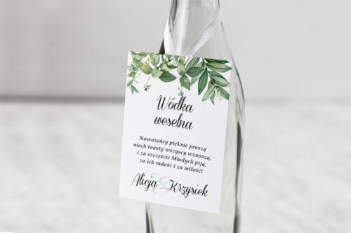 Zawieszka na alkohol Kwiaty Vintage – wzór 8