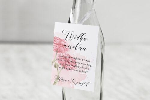 Zawieszka na alkohol Namalowane Kwiaty – wzór 1