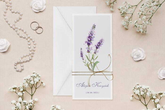 zaproszenie-slubne-minimalistyczne-z-kwiatem-lawenda-papier--dodatki--koperta-bez-koperty