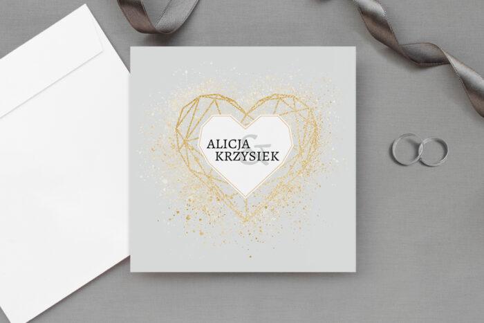 eleganckie-zaproszenie-slubne-geometryczne-serce-wzor-1-papier-matowy-koperta-bez-koperty