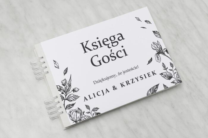ksiega-gosci-rysunkowe-kwiaty-dl-roze-papier-matowy-dodatki-ksiega-gosci