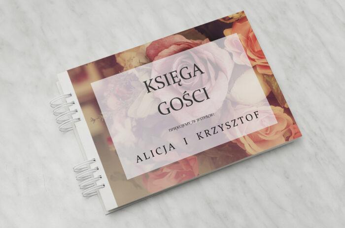 ksiega-gosci-slubnych-do-zaproszenia-fotograficzne-kwiaty-herbaciane-roze-papier-matowy-dodatki-ksiega-gosci