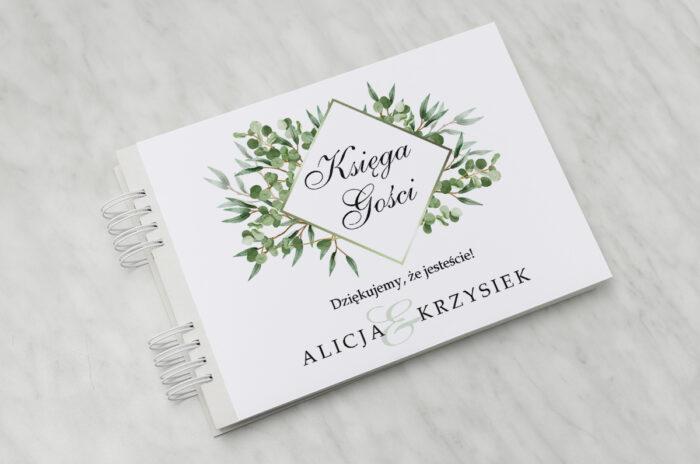 ksiega-gosci-slubnych-geometryczne-kwiaty-liscie-eukaliptusa-papier-satynowany-dodatki-ksiega-gosci