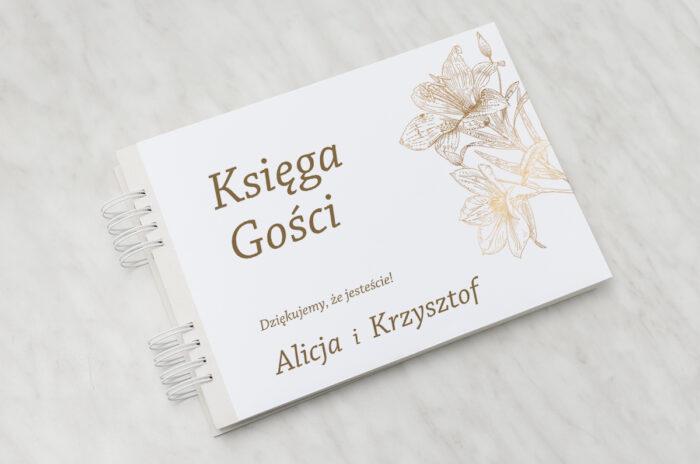 ksiega-gosci-rysunkowe-kwiaty-lilie-papier-matowy-dodatki-ksiega-gosci