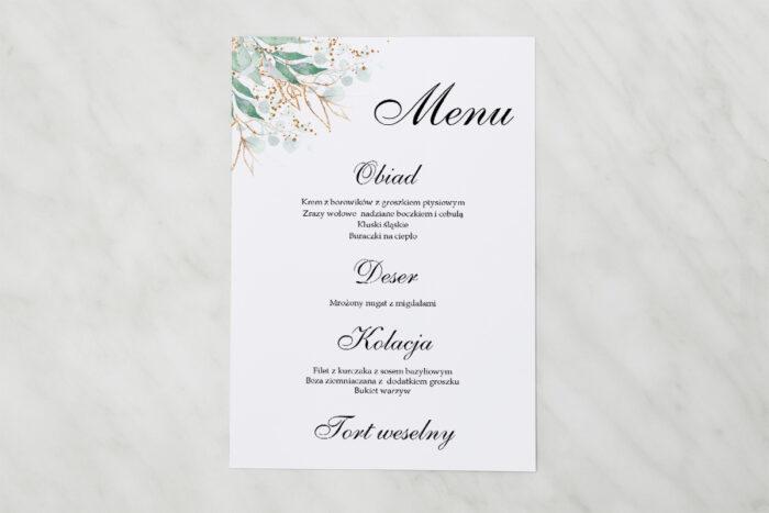 menu-weselne-pasujace-do-zaproszenia-geometryczne-kwiaty-galazki-ze-zlotem-papier-matowy