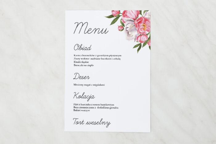 menu-weselne-pasujace-do-zaproszenia-kwiatowe-tla-koralowe-kwiaty-papier-matowy