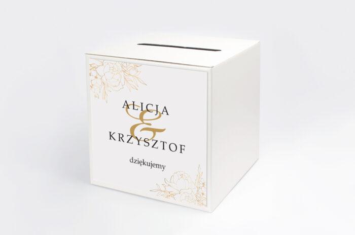 personalizowane-pudelko-na-koperty-geometryczne-kwiaty-zlote-roze-papier-satynowany-pudelko-