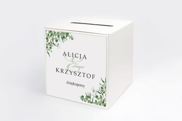 personalizowane-pudelko-na-koperty-geometryczne-kwiaty-liscie-eukaliptusa-papier-satynowany-pudelko-