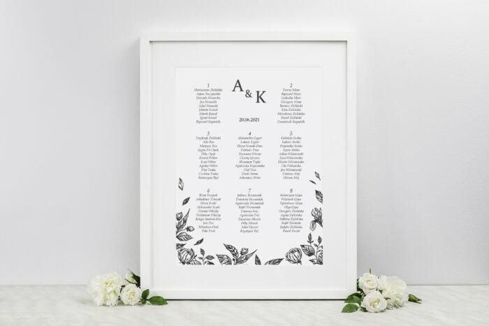 plan-stolow-weselnych-rysunkowe-kwiaty-dl-roze-dodatki-ramka-papier-ecruefakturowany