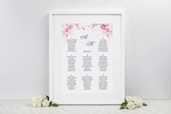plan-stolow-weselnych-do-zaproszenia-akwarelowe-bukiety-roze-na-jasnym-tle-dodatki-ramka-papier-matowy