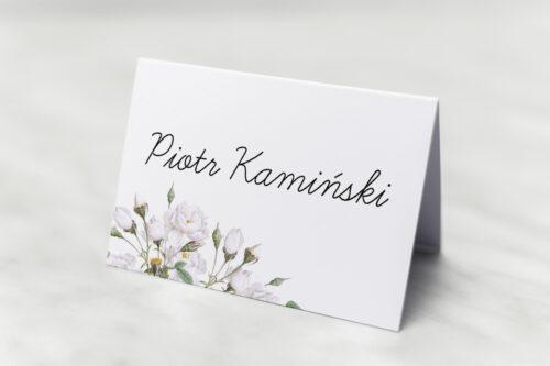 Winietka ślubna Kwiaty Vintage – Białe Róże
