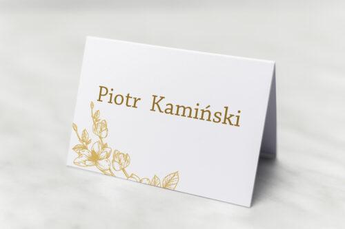 Winietka ślubna - Rysunkowe kwiaty - Hibiskus