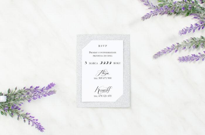 rsvp-do-zaproszen-brokatowych-pismo-ozdobne-papier-matowy-podkladki-