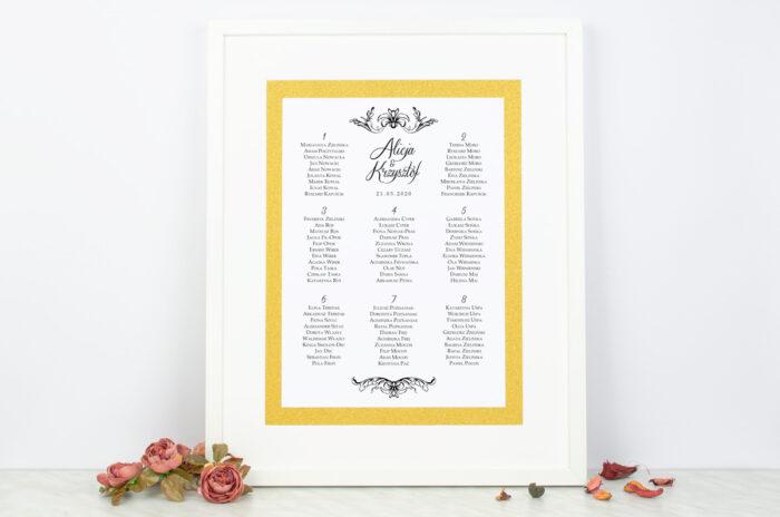 plan-stolow-weselnych-do-zaproszenia-brokatowego-ornamentowa-lilia-dodatki-ramka-papier-matowy-podkladki-