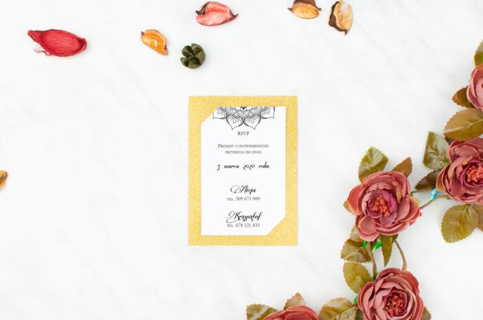rsvp-do-zaproszen-brokatowych-ornamentowa-rozeta-papier-matowy-podkladki-