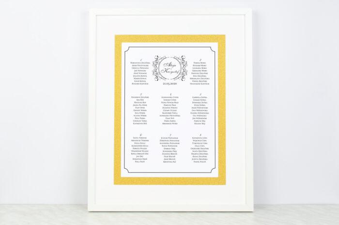 plan-stolow-weselnych-do-zaproszenia-brokatowego-ornamentowa-secesja-dodatki-ramka-papier-matowy-podkladki-