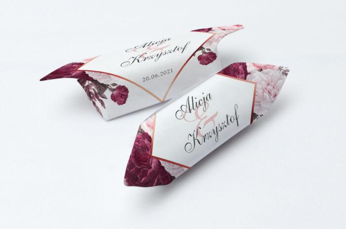 krowki-slubne-1-kg-geometryczne-kwiaty-amarantowy-bukiet-papier-papier60g