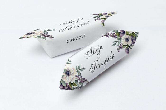 krowki-slubne-kwiatowe-galazki-bialo-fioletowe-anemony-papier-papier60g