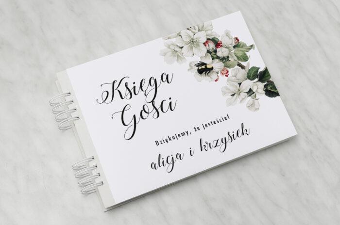 ksiega-gosci-slubnych-botaniczne-jednokartkowe-kwiat-jabloni-papier-matowy-dodatki-ksiega-gosci