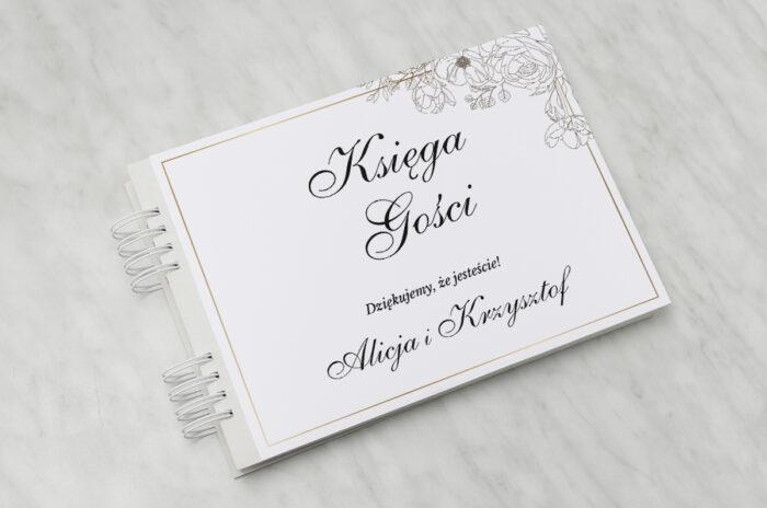 ksiega-gosci-slubnych-geometryczne-ze-zdjeciem-biala-kompozycja-papier-matowy-dodatki-ksiega-gosci