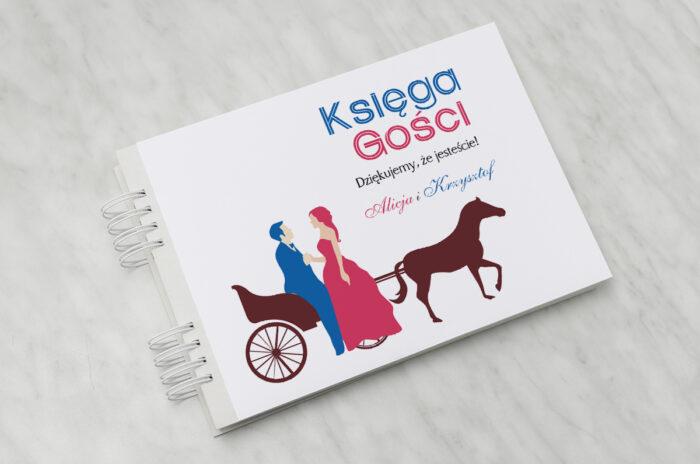 ksiega-gosci-slubnych-vintage-red-blue-powoz-papier-matowy-dodatki-ksiega-gosci