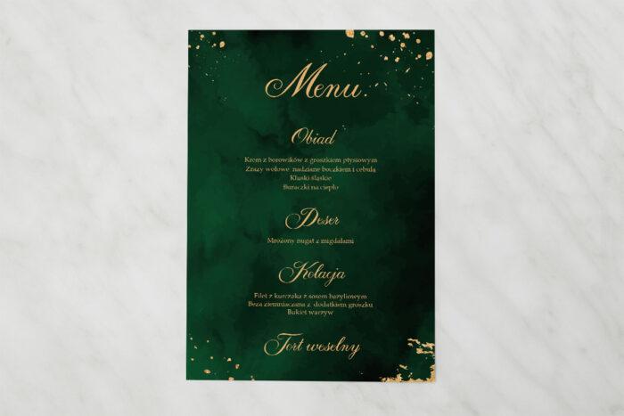 menu-weselne-pasujace-do-zaproszenia-eleganckie-szmaragdowe-papier-matowy