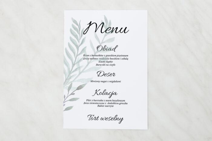 menu-weselne-pasujace-do-zaproszenia-botaniczne-jednokartkowe-zamiokulkas-papier-matowy